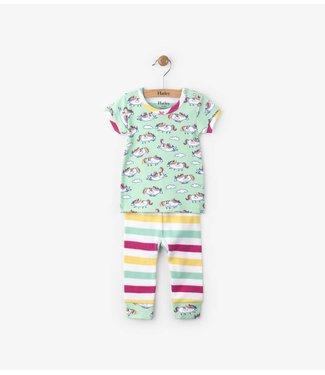 Hatley Hatley 2-piece pajamas unicorns
