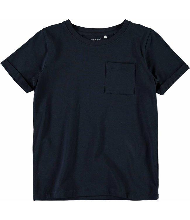 Name-it name-it t-shirt vester dark saphire