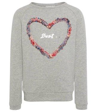Name-it Name-it sweater Jolie Gray melange