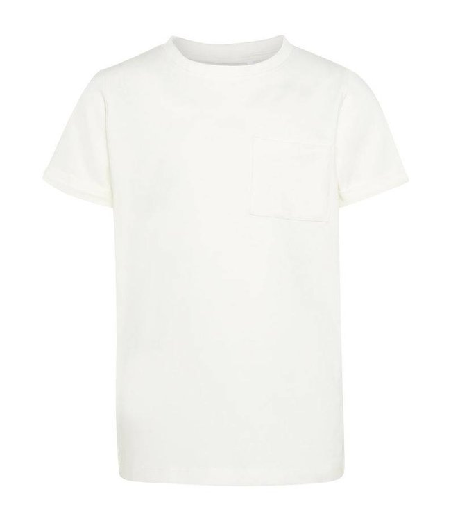 Name-it nom-it t-shirt vester neige blanc