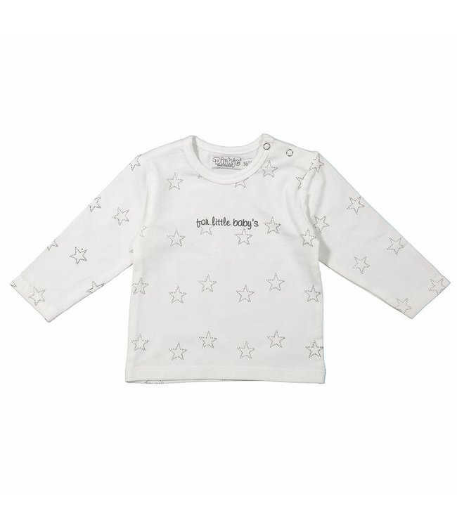 Dirkje kinderkleding Dirkje 't shirt stars for little babies