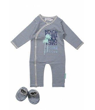 Dirkje kinderkleding Dirkje babysuit sttripes + chaussons
