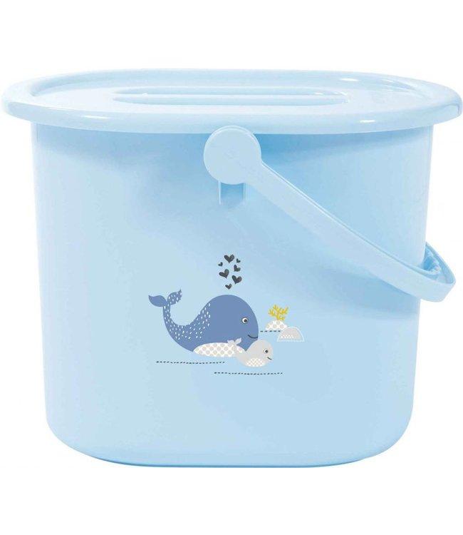 bebe-jou Bebe-jou diaper bucket Wally Whale