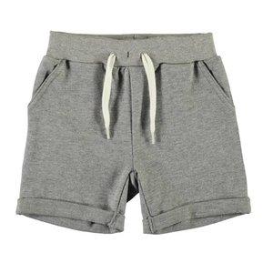 Name-it Name-it jongens grijze sweat long short VAIN