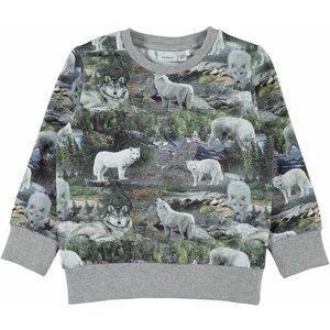 Name-it Name-it sweater KASIAL grey melange