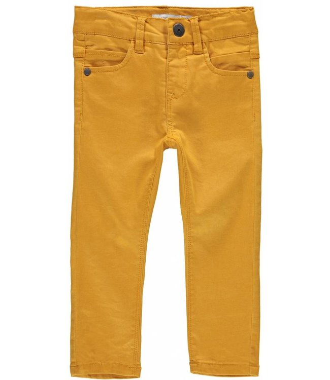Name-it Name-it boys ocher yellow jeans THEO Sunflower