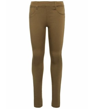 Name-it Name-it girls leggings pants TINNA Burnt Olive