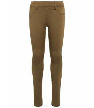 Name-it Pantalon legging Name-it fille TINNA Burnt Olive