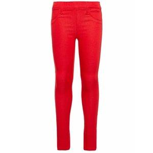 Name-it Name-it meisjes legging broek TINNA True Red