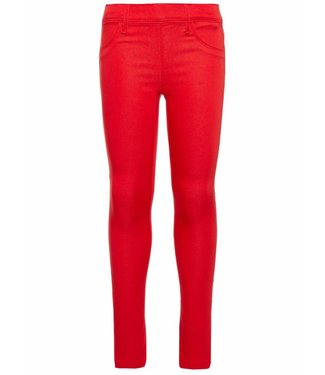 Name-it Name-it meisjes legging broek TINNA True Red