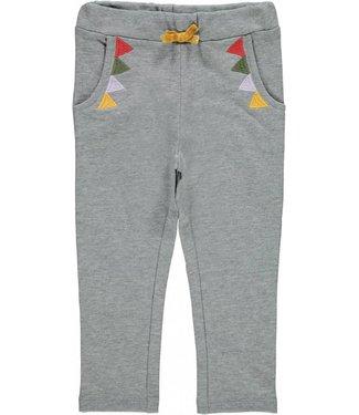Name-it Pantalon de survêtement fille LALINDA Grey Melange