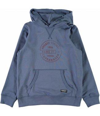 Name-it Name-it jongens sweater BAGUN Vintage indigo