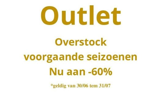 *OUTLET 60%*