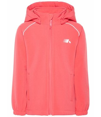 Name-it Name-it pink softshell jacket ALFA