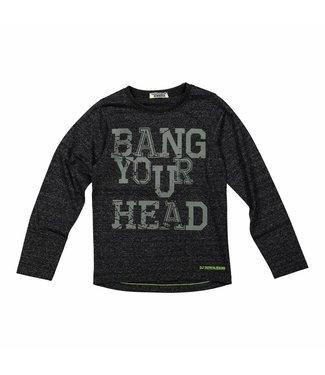 Dj Dutchjeans Djdutchjeans black boys t-shirt Bang your head