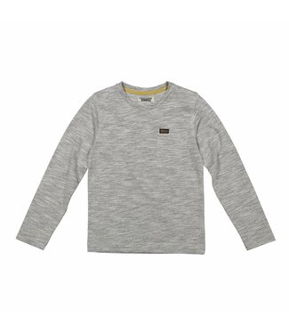 Dj Dutchjeans Djdutchjeans gray boys t-shirt with chest pocket