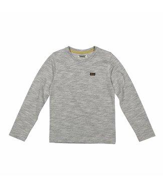 Dj Dutchjeans Djdutchjeans grijze jongens t-shirt met borstzak