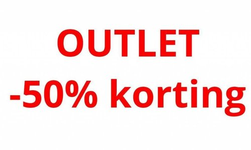 *OUTLET 50%*