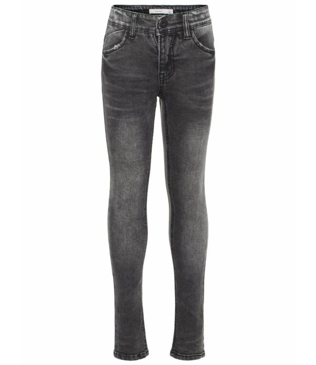 Name-it Name-it zwarte jongens jeans SILAS