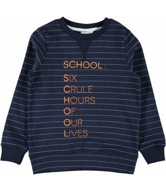 Name-it Name-it blauwe jongens sweater NEWARK
