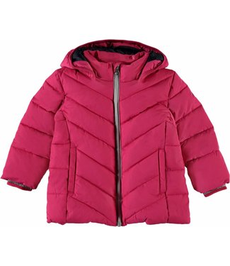 Name-it Name-it girls pink winter jacket PUFFER