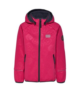 Lego wear Legowear pink girls softshell jacket
