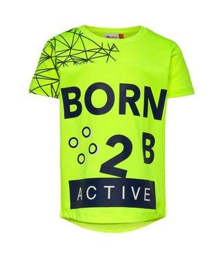 Lego wear Legowear gele jongens t-shirt Born 2 B active