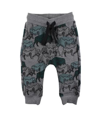 Small rags Small Rags boys winter pants animals