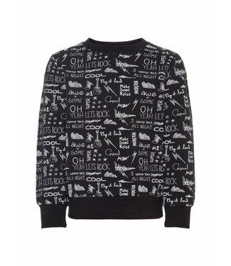 Name-it Name-it black boys sweater OKKE