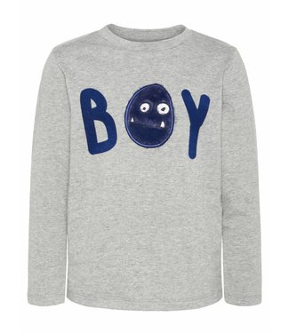 Name-it Name-it gray boys t-shirt OLLAN