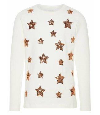 Name-it T-shirt blanc filles nom-it NOMIE