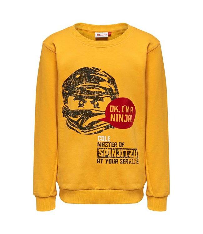 Lego wear Legowear gele jongens sweater Lego Ninjago