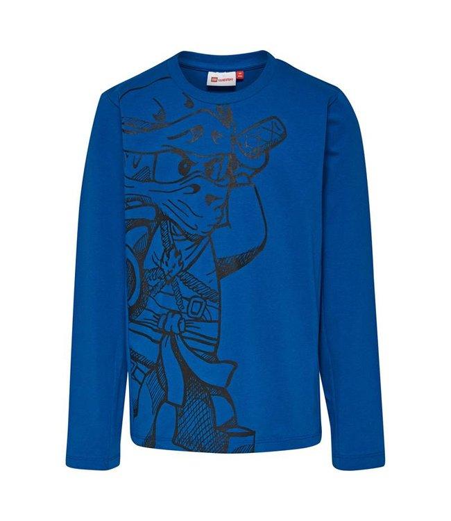 Lego wear Legowear blauwe Lego Ninjago t-shirt