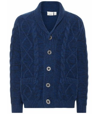Name-it Name-it jongens blauwe cardigan ORLIK