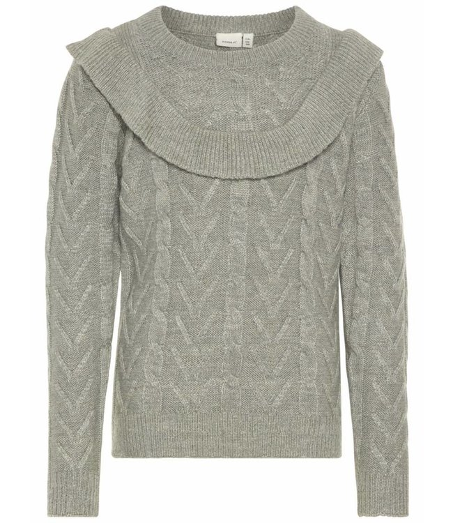 Name-it Name-it blades sweater ORFRILL Gray Melange