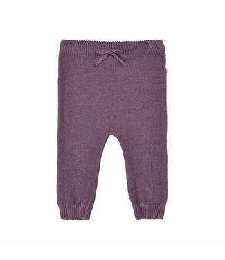 Minymo Minymo purple baby winter pants