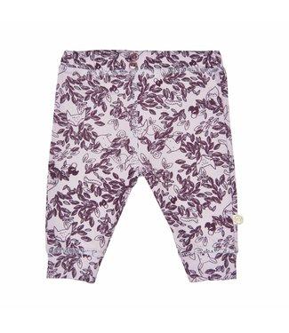 Minymo Minymo paarse meisjes legging broek