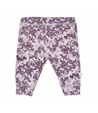 Minymo Minymo violet filles leggings pantalon