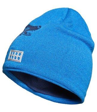 Lego wear Legowear blauwe Lego Duplo winter muts