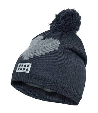 Lego wear Legowear gray winter hat Lego heart
