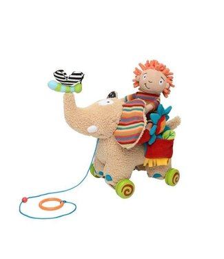 Dolce toys Dolce toys Câlin - Éléphant à tirer