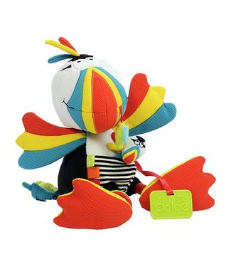 Dolce toys Dolce toys câlin Puffin le perroquet