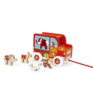 Scratch Scratch Sorting trolley Circus