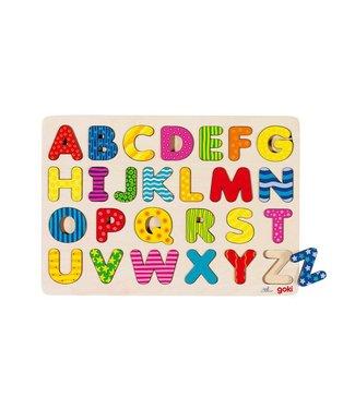 Goki Goki Insert Puzzle - Abc majuscules