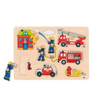 Goki Goki Steekpuzzel - Brandweer