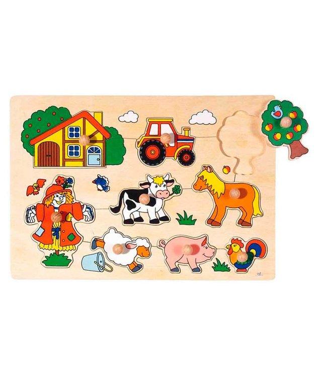 Goki Goki Stitch Puzzle - Farm
