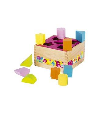 Goki Goki sorting box - Various shapes butterfly
