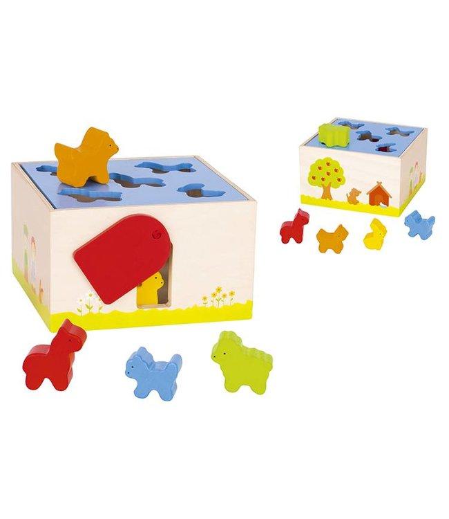 Goki Goki sorting box - Farm animals