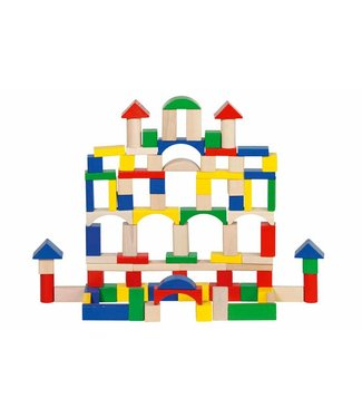 Goki Goki wooden blocks - tons 100st