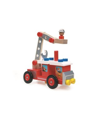 Scratch Camion de pompiers de construction Scratch